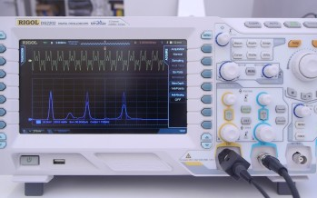Gadget Inspektor:<br/>Rigol DS2202 Fourier Transformation (Video)
