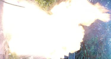 Fettbrand bei Grill den Henssler