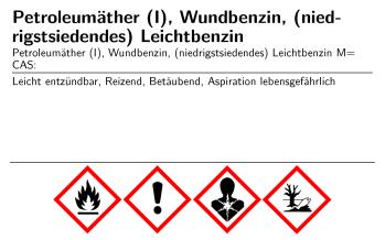 Online: Chemikalien-Etiketten